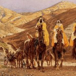 """The Journey of the Magi"" (1894) by James Jacques Joseph Tissot"