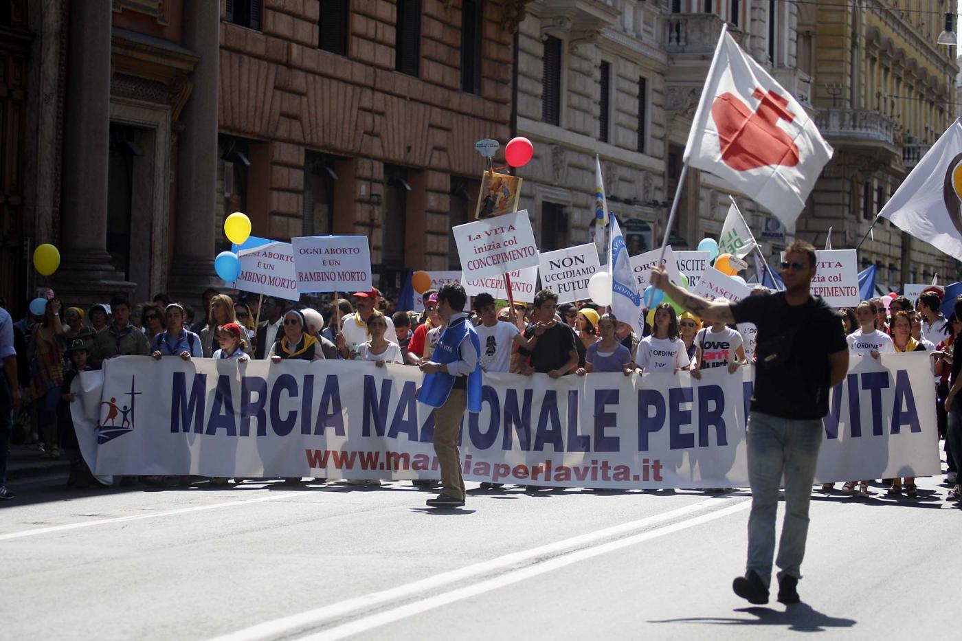 Marcia per la vita- movimenti anti abortisti