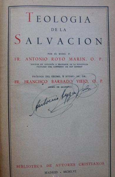 Teologia della Salvacion