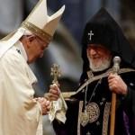 con il patriarca Karekin II
