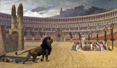 Jean Léon Gérôme – The Christian Martyrs  Last Prayer