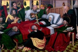 Madonna morente - Jan Joest, chiesa di San Nicola a Kalkar,