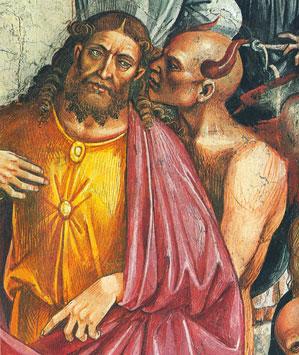 l'Anticristo, particolare