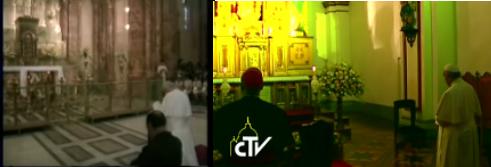 Giovanni Paolo e Francesco a Quito