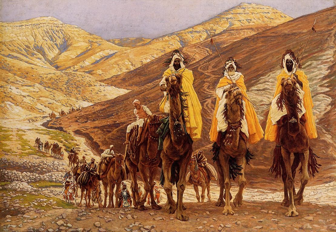 The Journey of the Magi (1894) by James Jacques Joseph Tissot