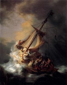Rembrandt_Cristo nella tempesta sul lago di Galilea