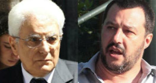 Mattarella-Salvini