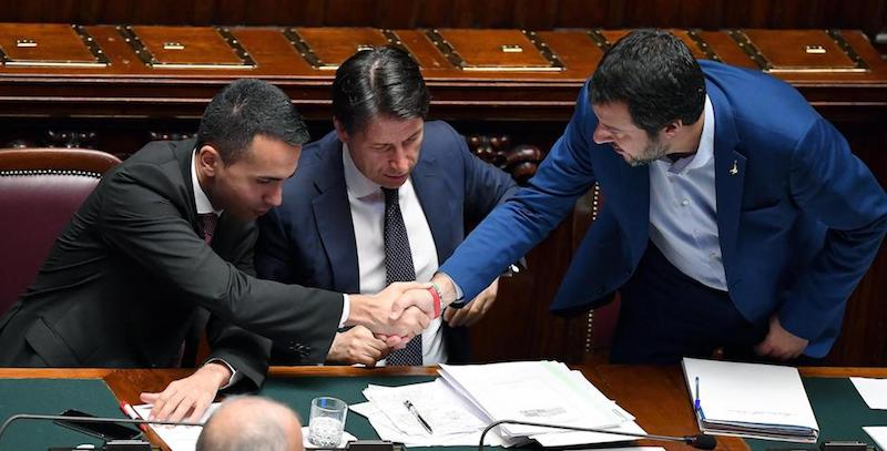 Di Maio_Conte_Salvini