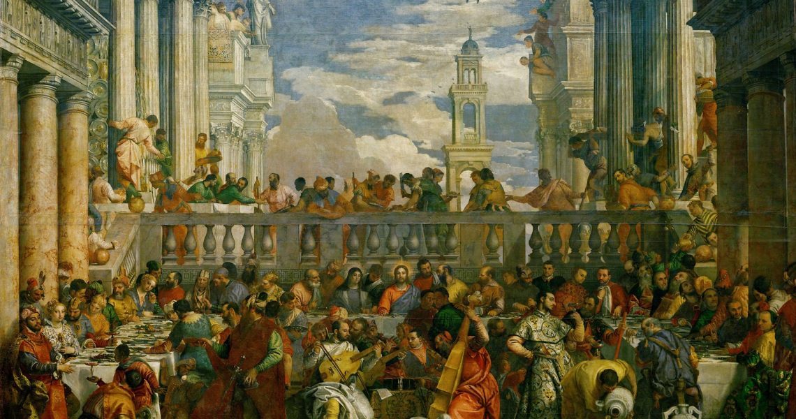 Veronese - The Marriage at Cana 1563 - Louvre