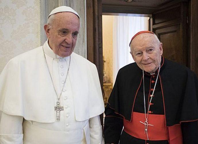Papa e McCarrick