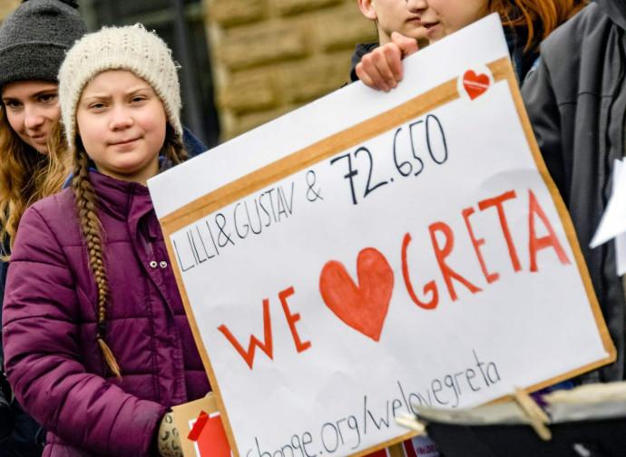 Greta, l'attivista anti-climate change